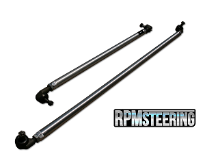 JK 1-Ton Aluminum Tie Rod and Drag Link Steering Flip Kit