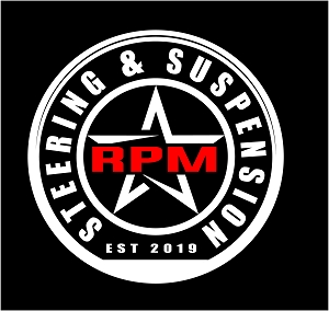 RPM Steering Circle Sticker